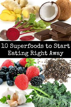 There are so many superfoods out there - too many to list. Superfoods are foods that are densely packed with nutrients that fuel the body, prevent. Healthy Diet Tips, Healthy Food Choices, Healthy Eating Recipes, Nutrition Tips, Healthy Habits, How To Stay Healthy, Healthy Life, Weight Loss Diet Plan, Losing Weight