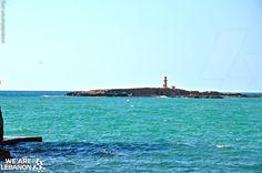Ziri island near #Saidon جزيرة الزيري قرب #صيدا #WeAreLebanon