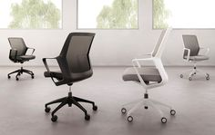 OFS Flexxy Modern Office Design, Contemporary Office, Office Interior Design, Office Interiors, Office Furniture Warehouse, Office Seating, Office Chairs, Work Chair, Conference Chairs