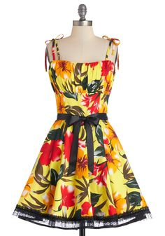Setting Sun Dress | Mod Retro Vintage Dresses | ModCloth.com