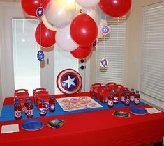 bolsitas de cumpleaños capitan america - Buscar con Google