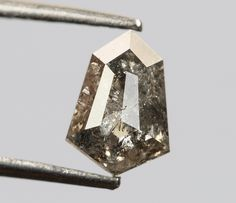 0.53 Ct, 6.3 X 4.4 X 2.3 MM, Geometric Shape Salt And Pepper Color Natural Loose Beautiful Diamond, Crystal Diamond, Radiant Diamond, R668 by VishwaImpex on Etsy Uncut Diamond, Rough Diamond, Rose Cut Diamond, Pepper Color, Crystal Diamond, Conflict Free Diamonds, Natural Diamonds, Geometric Shapes, Colored Diamonds