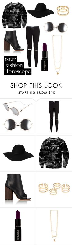 """Untitled #13"" by lillydelemos on Polyvore featuring A.J. Morgan, New Look, Monki, Mr. Gugu & Miss Go, Givenchy, Smashbox, libra, fashionhoroscope and stylehoroscope"