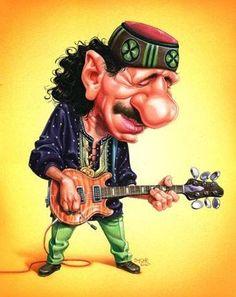 Resultado de imagen de gifs animados de Carlos Santana