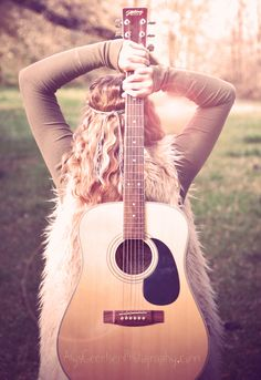 www.AlysGeertsenPhotography.com  Hippie  Boho  Bohemian  Teen  Guitar  Blonde