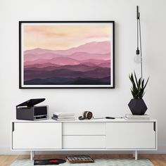 Nordic Modern Landscape Canvas Painting Snow Mountain Posters And Prints Horse Forest Picture For Living Room Home Decoration Fine Craftsmanship Painting & Calligraphy