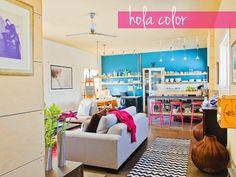 casa llena de color