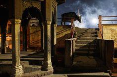 https://flic.kr/p/BN3T7n | Moody night - Varanasi, India | A moody scene at the…