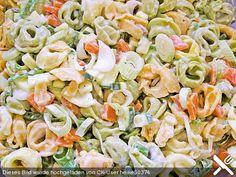 Tortellini-Salat, ein sehr schönes Rezept aus der Kategorie Schnell und einfach. Bewertungen: 9. Durchschnitt: Ø 3,8.