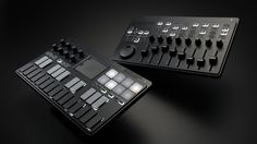WOW THESE LOOK COOL... Keyboard and mixer devices are portable in every sense