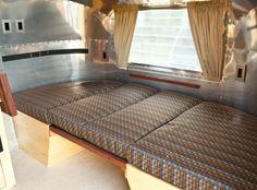 Sleeping platform in Airstream