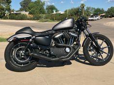Harley Davidson iron 883, Roland Sands Design cafe racer