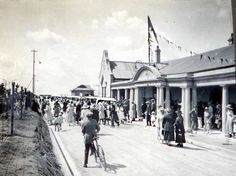 Opening of Benoni Railway Station 1922 Lest We Forget, African History, Afrikaans, Old City, South Africa, Landscape Photography, Cities, Photographs, Street View