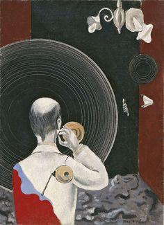 Max Ernst, Untitled (Dada), c. 1922-23. Oil on canvas
