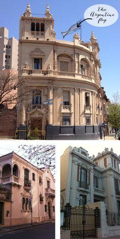 Spanish architecture.  Cordoba, Argentina