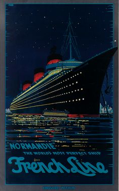 Nice 1953 French Line Ocean Liner Cruise Ship Travel Vtg Print Ad Choice Materials Advertising-print 1950-59