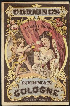 Corning's German Cologne [front] | Flickr - Photo Sharing!