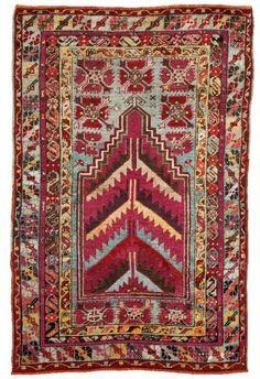Turkish Kirsehir rug, 1900