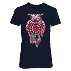 Sugar Skull Owl - Ole Miss Rebels Udb7pd T-SHirt, Ole Miss Rebels Official Apparel - this licensed gear is the perfect clothing for fans. Makes a fun gift!  AVAILABLE PRODUCTS District Women's Premium T-Shirt - $29.95   District Women District Men Next Level Women Gildan Unisex Pullover Hoodie Gildan Long-Sleeve T-Shirt Gildan Fleece Crew View sizing / material info This is a fitted female style. For a true fit order size up.