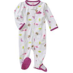 $7.44 (Walmart) Child of Mine by Carters Newborn Girls Elephant Sleep n Play