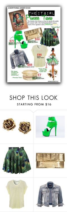 """The It Girl : Princess Tiana"" by ejn2010 ❤ liked on Polyvore featuring Disney, Tiffany & Co., Jennifer Chou, Atmos&Here, maurices, women's clothing, women, female, woman and misses"