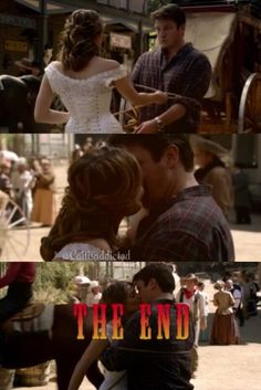 Season 7 episode 7 'Once Upon A Time In The West'. #caskett #castletvshow #rickcastle #katebeckett #thewildwest #casketthoneymoon