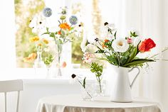 Colourful SMYCKA artificial flowers  - IKEA