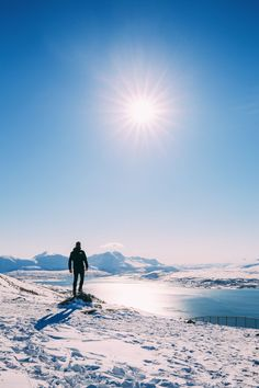 Yup! We're up in the Artic.    I am writing this post looking right outside my window at a snow-clad mountain in one of the most beautiful places (and certainly the highest place) we've ever visit -