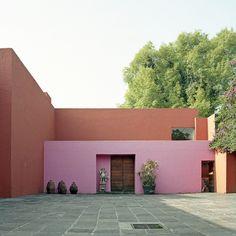 luis barragan / casa eduardo prieto lopez / jardines del pedregal / México df / 1951