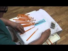 dDIY: Lace Lessons: Lesson 2 (The Half Stitch) - YouTube