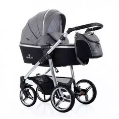 Venicci Travel System (Special Edition) - Silver Chassis / Denim Grey