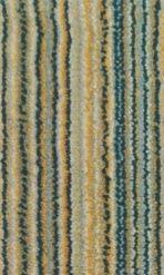 Moquette de laine à rayures multicolores - Collection Milyarns tissage wilton 100% laine - Col.2076