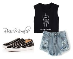 """""""Sin título #138"""" by rocio06morales ❤ liked on Polyvore featuring Christian Louboutin"""