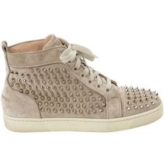 louboutin sneakers Beige