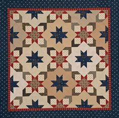 Quilts Made of Civil War Reproduction Fabrics from all people quilt