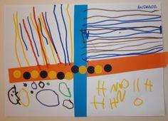 LA CLASE DE MIREN: mis experiencias en el aula: TALLER DE GRAFISMO: UN POQUITO DE CADA