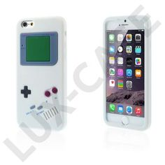Gameboy (Hvid) iPhone 6 Cover