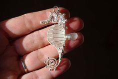 Sea Glass seahorse.