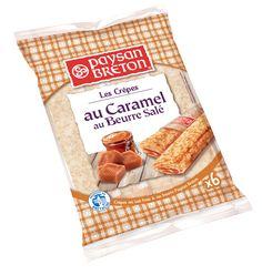 Les Crêpes Fourrées au Caramel au Beurre Salé paysan Breton