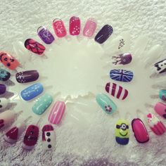 Jessica GELeration Nail Art. Created by Beautylicious.