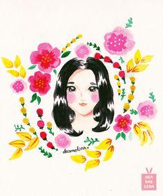 Flowers~ by Dea Raedina #deadeyart