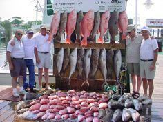The crew after 48 hours of bottom fishing   destincharterfishing.org