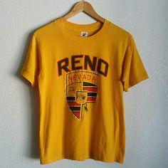 Vintage Reno, Nevada Tee Great vintage condition Size Medium Vintage Tops Tees - Short Sleeve