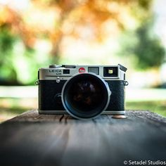 A beautiful, classic M camera. What's not to love? Find the perfect Leica M model just for you exclusively at setadelstudios.com!