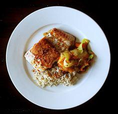 Asian Style Salmon, Veg & Brown Rice