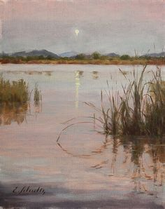 "Evening at Fern Ridge by Emily  Schultz  ~ 10"" x 8"""