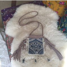 ₣ŁΔŞĦ ŞΔŁ€ ^^ ƒяєє ρєσρℓє •• daydream crossbody ꊛ free people ꊛ one size ꊛ like new; used once  ☾beautiful blue beaded crossbody bag with suede and beaded tassels. too small for an iPhone + but should accommodate anything smaller. used only once and is in perfect condition.   ꊛ × no paypal × no trades × be kind, have fun & stay lovely ო  メℴ メℴ Free People Bags Crossbody Bags