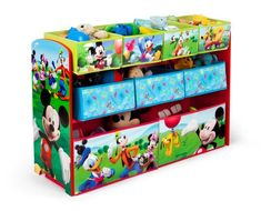 Delta Children Disney Mickey Mouse Deluxe Multi-Bin Toy Organizer * Check out the image by visiting the link. (This is an affiliate link) Disney Mickey Mouse, Mickey Mouse Toys, Mickey Mouse Characters, Mickey Mouse Clubhouse, Toy Bin Organizer, Toy Storage Bins, Toy Organization, Organizing Ideas, Storage Ideas