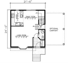 1205 in addition 050g 0031 in addition 6 X 10 Shed Plans 7x12 Trailers Must See together with Garages Attached To Houses Pictures besides Plans Likewise 24 X 30 Floor Plans House On 24 X 48 Home Floor Plans. on shed carport plans