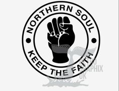 Northern Soul Sticker 70mm Scooter Stickers Mod Soul Wigan KTF Torch | eBay Northern Soul, Color Swatches, British, Faith, Colours, Stickers, Ebay, Sticker, Loyalty
